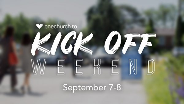 Kick Off Weekend 2019